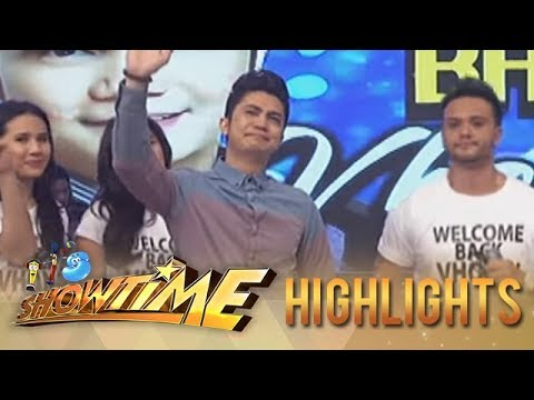 Vhong Navarro makes tearful return on Showtime!