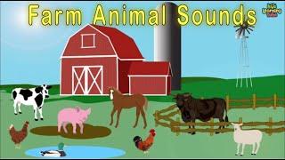 getlinkyoutube.com-Animal Sounds Song / Farm Song For Children