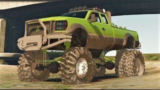 getlinkyoutube.com-Grand Theft Auto 5 - Best Mud/Monster Truck Mod! - GTA 5
