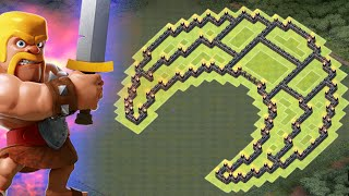 CLASH OF CLANS TH9 FARMING BASE / TOWN HALL 9 INSANE LOOT DEFENCE 2015!!