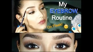 "getlinkyoutube.com-HOW TO GROW AND RESHAPE EYEBROWS ""Fake it until you make it!"""