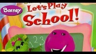 getlinkyoutube.com-Barney - Let's Play School