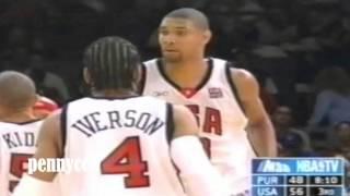 getlinkyoutube.com-The 'REAL' Team USA 2004 *Full Highlight vs Puerto Rico