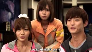 getlinkyoutube.com-Vietsub Tensou Sentai Goseiger VS Shinkenger  Epic On Ginmaku   YouTube