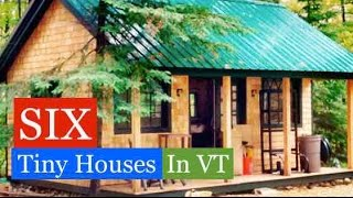getlinkyoutube.com-SIX Tiny Houses/Cabins in VT (Jamaica Cottage Shop Tour w/Deek)