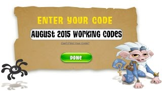 getlinkyoutube.com-Animal Jam | August 2015 Codes 6,100 Gems