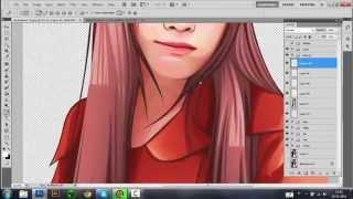 getlinkyoutube.com-Tutorial Photoshop Mengubah Foto Menjadi Kartun / Vektor bagian 3