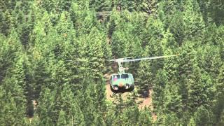 getlinkyoutube.com-Vietnam Huey Helicopter UH-1 25th Infantry Division