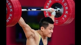 getlinkyoutube.com-2013 World Weightlifting Championships Men's 77 kg Snatch