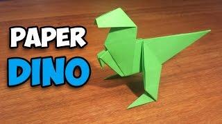 getlinkyoutube.com-How To Make an Easy Origami Dinosaur
