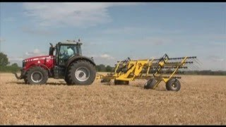 Claydon Drills Straw Harrow