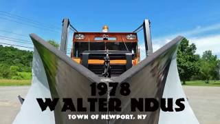 8V92 Detroit Diesel Ultimate Snow Plow - Walter NDUS