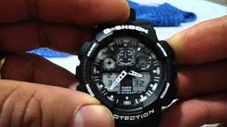 getlinkyoutube.com-Acertando a hora do G-Shock Casio