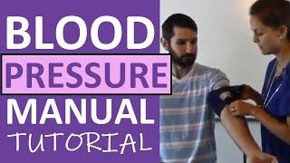 getlinkyoutube.com-How to Take a Blood Pressure Manually