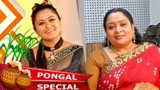getlinkyoutube.com-Actress Sudha Chandran & Sulakshana in Celebrity Kitchen - Pongal Special (15/01/2015)