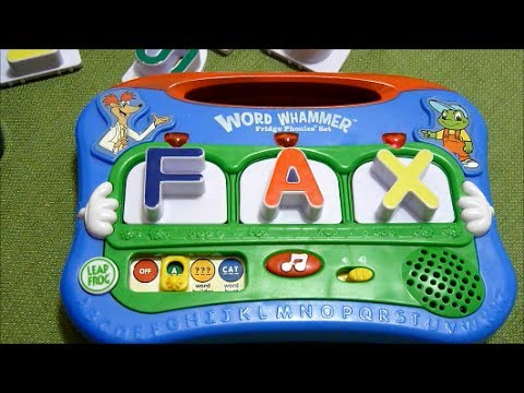 Review of Leapfrog Word Whammer Fridge Phonics Set - Year Model 2004