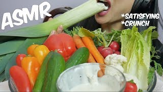 ASMR Veggie Platter (EXTREME CRUNCHY EATING SOUNDS) No Talking   SAS-ASMR