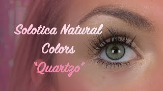 getlinkyoutube.com-Solotica Natural Colors Quartzo Colored Contacts In HD 👀