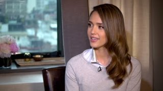 getlinkyoutube.com-Jessica Alba Talks Motherhood and Her Organic Business - Off Duty Exclusive Interview