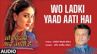 getlinkyoutube.com-Wo Ladki Yaad Aati Hai Full Song | Chhote Majid Shola Hit Romantic Songs