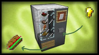 getlinkyoutube.com-Minecraft: How to make a working vending machine