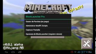 getlinkyoutube.com-Como utilizar el Block launcher PRO