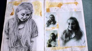 getlinkyoutube.com-My GCSE Art Sketchbook - A* Grade