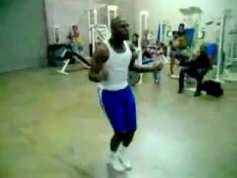 Floyd Mayweather Work with a skipping rope