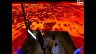 getlinkyoutube.com-Kotf Jedi Academy Multiplayer Anakin vs Obi Wan