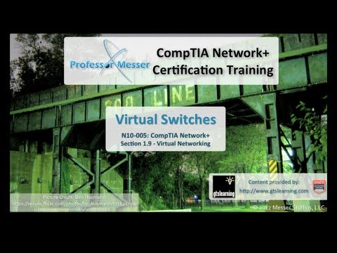 CompTIA Network+ N10-005: 1.9 - Virtual Switches