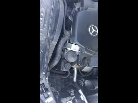 Как полностью заменить антифриз в системе Mercedes w220