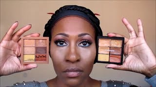 getlinkyoutube.com-NEW NYX Conceal Correct Contour Palette vs. MAC Studio Conceal & Correct Palette:DEMO