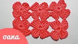 getlinkyoutube.com-crochet clover stitch