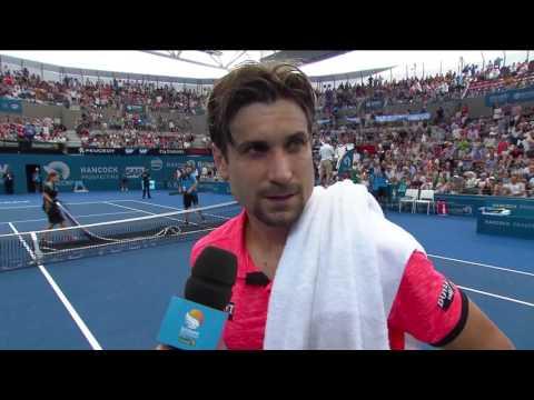 David Ferrer on court interview (1R) | Brisbane International 2017