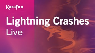 getlinkyoutube.com-Karaoke Lightning Crashes - Live *