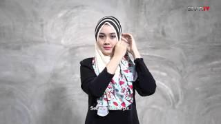 Tutorial Tudung Bawal Aidijuma Dijadikan Shawl- Yuyu Rashid