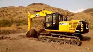 getlinkyoutube.com-JCB JS220LC Heavy Duty Excavator | JCB Hydraulic Tracked Excavators