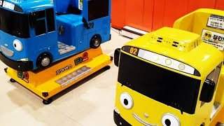 getlinkyoutube.com-타요타요 시즌3 Tayo 라니 & 주인공 타요 아이들이 운전하며 놀 수 있는 장난감 소개. Tayo 꼬마버스 타요 출연 캐릭터 - Buri Toy Play 유아동영상, 어린이놀이