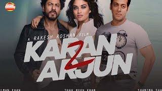 Karan Arjun Style SONG Shoot Salman or shahrukh khan