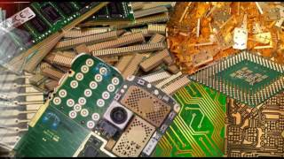 getlinkyoutube.com-Eco-Goldex (E) gold stripping and recovery process from electronic waste  and jewlery materials