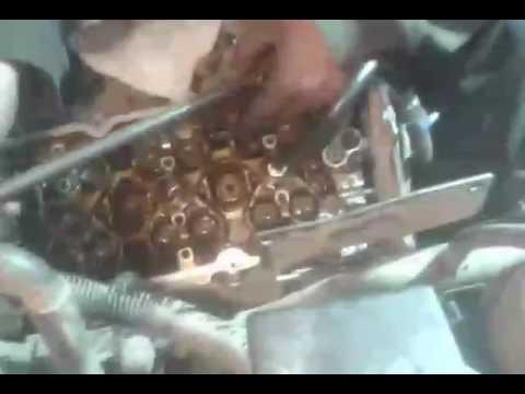 Замена маслосъёмных колпачков Ниссан патфайндер v6
