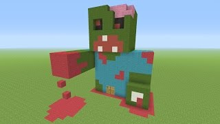 getlinkyoutube.com-Minecraft - Awesome Zombie!!! Survival House #34
