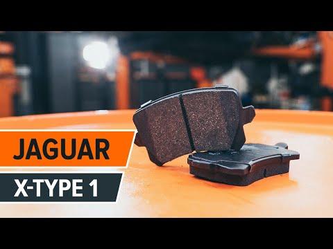 Как да сменим Задни спирачни дискове, Задни спирачни накладки наJAGUAR X-TYPE 1 (Инструкция)
