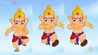 अनलासुर (Analasur)| Ganesha In Hindi | Animated / Cartoon Stories For Children