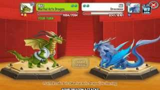 getlinkyoutube.com-Dragon City: Martial Arts Dragon Battle & Skills