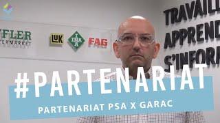 Partenariat SCHAEFFLER GARAC