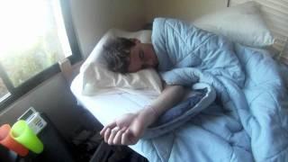 getlinkyoutube.com-How to Wake Up a Deaf Kid