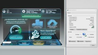 getlinkyoutube.com-Speedtest Wi-Fi AC 5GHz - Movistar Fibra 300MB - Router Asus RT-AC1200G+