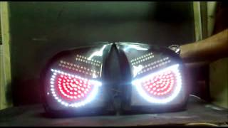 PEUGEOT tail lights