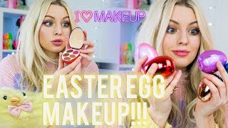 EASTER EGG MAKEUP PALETTES!? *SUPER CUTE* | I Heart Makeup Surprise Eggs!